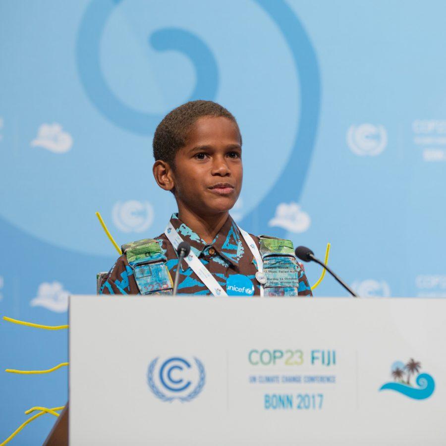 Timoci Naulusala COP 23