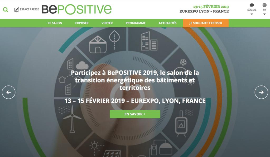 BePOSITIVE, le salon qui stimule l'écosystème énergétique et numérique événements green