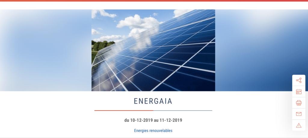 Energaia, événement éco responsable à ne pas manquer - événements green