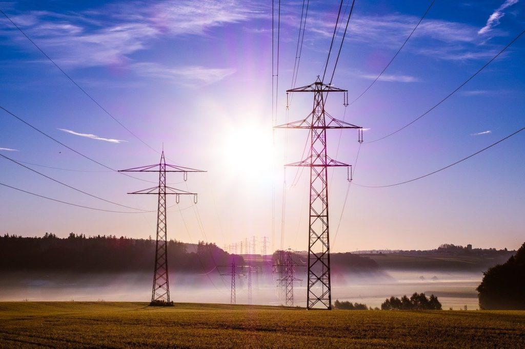Poteaux électriques