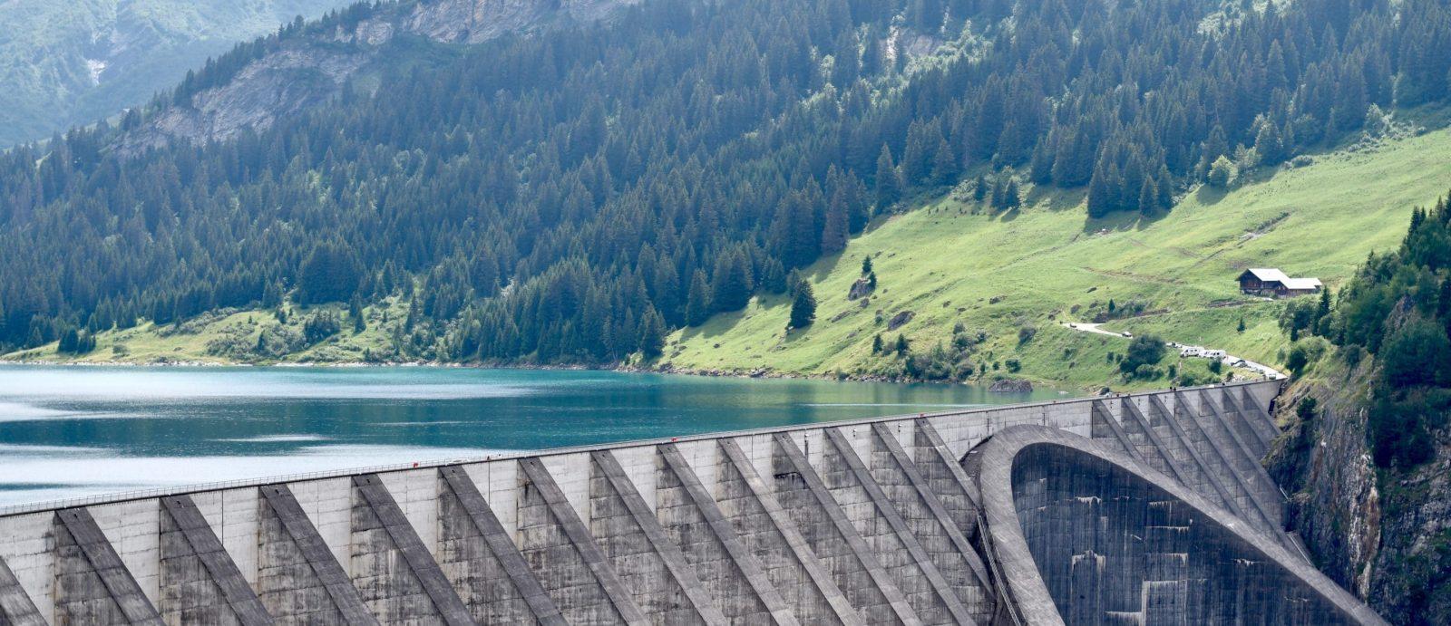 les barrages hydrauliques produisent de l'électricité verte